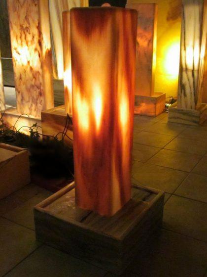 Sölker-Marmor-Lichtstele Basic-90cm