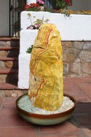 Terassenbrunnen Sandstein 80 cm