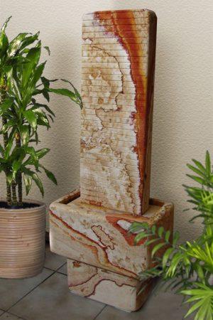 """Wasserwand """"Via Appia"""" mit Sockel 110 cm"""