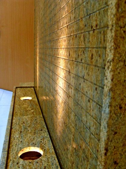"Granit Wasserwand ""Sahara"", 205cm"